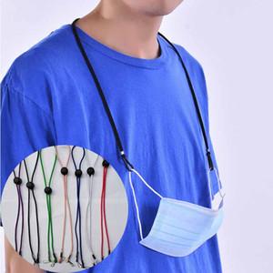 Yüz Kalkanı Kayış Maskeleri Tutucu İpi Kullanışlı Emniyet Unisex Uzatma Toka İpi FWC1536 için istirahat Kulak Tutucu İp Maske