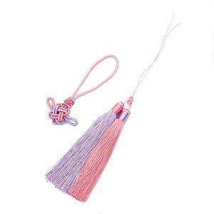 1set Pack Polyester Borla Fringe Trim con 12 cm Tassels de seda de algodón para decoración de bodas Hecho a mano DIY Cortinas de costura Accesorios H Qylgab