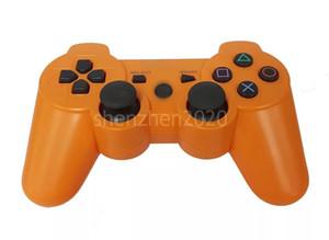 PS3 진동을위한 Dropship Dualshock 3 무선 블루투스 컨트롤러 소매 상자가있는 조이스틱 게임 패드 게임 컨트롤러 2021