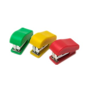 coloful mini stapler small hand staplers portable desktop stapler student stapler use for office schol and home my-inf0131 fUEsO