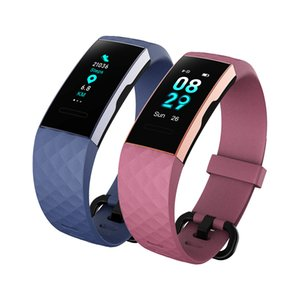 DO ID151 Bluetooth Smart Bracelet Band Watches Fitness Tracker Heart Rate Full Touch GPS IP68 Color screen
