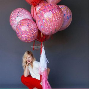18inch Peacock Multicolor Latex Balloon Inflatable Air Balls Children's Birthday Party Balloons Wedding Decoration Float Balls