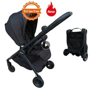 Lightweight Stroller Travel Portable Pram Reversible Pushchair EU standard LJ201012