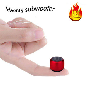 NEW 2020 Hot mini gift Bluetooth Speaker Metal hifi TWS Super Small Steel Loudly speaker wireless portable bluetooth1