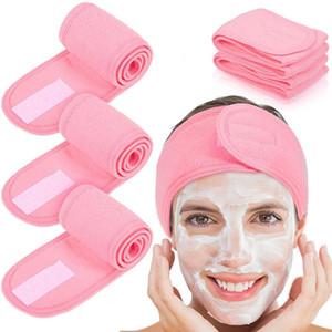 Double Sides Soft Microfiber Headband Girl Sport Yoga Hairband Solid Hair Bnad Bandana Makeup Female Hair Band Accessories