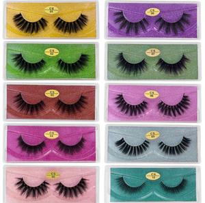 3D Mink Eyelashes CS series Mink Lash 10 Styles 3d Mink Lashes Natural Thick Fake Eyelashes Makeup False Lashes Extension DHL Free Shipping