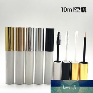 New arriva 10ml White Mascara tubes Empty revitalash Eyelash Bottles Gold cap DIY Eyeliner make up cosmetic packing Container