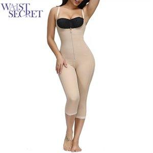 Bel Secret Bel Eğitmen Dikişsiz Karın Kontrol Tam Vücut Şekillendirici Zayıflama Iç Çamaşırı Doğum Sonrası Düğün Shapewear Korse Kuşak Y200706