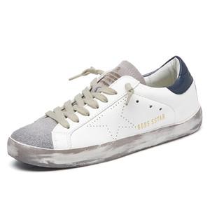 New Running Shoes Sneakers PU Desporto Couro Calçados Outdoor Jogging Trainers Antigo Sujo Luz calçado par sapatos 201019