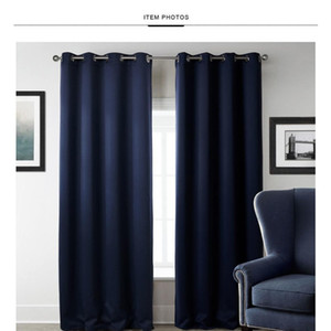 New Modern Blackout Curtains For Window Treatment Blinds Finished Drapes Window Blackout Curtain For Living Room The jllaMc eatout