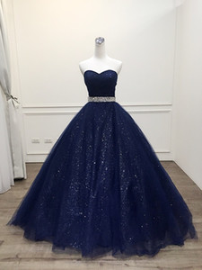 Flattering Sweetheart Cross Ruched Bodice Crystals Belt Sash A-line Sweep Train Skirt Sparkle Tulle Pageant Gown Party Evening Dress