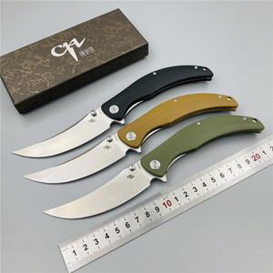 Nouveau Sultan-G10 couteau pliant D2 Lame Alpinisme Camping Chasse Pêche couteau de poche Trekking Outils de fruits EDC tactique