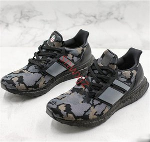 2020 Ape Ultra Boost Camo pack Mens Shoes Ultraboost UB Black Gray Green Shoes