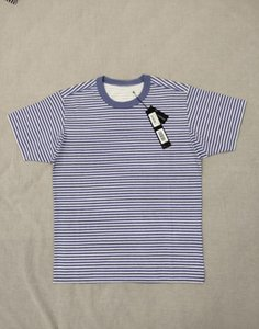 Sıcak 4 Satış Renkleri S-3XL 19SS Marina T-shirt T-shirt 233x9 Pigment Topstoney Baskı Boyutu: Çizgili APGEN