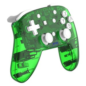 New Transparent for Switch Controller Wireless Bluetooth Gamepad Joystick for Switch Switch Lite Game Machine Green
