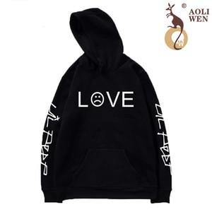 Aoliwen Marca 2020 Amor de Los Hombres Sudaderas Contaca Suter Hombre Sonrisa Beb Streetwear