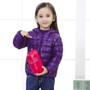 Children's down jacket lightweight autumn and winter boys and girls' down jacket