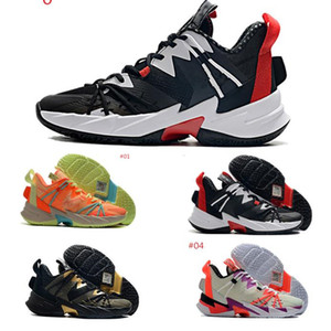 Jumpman Why Not Zer 0.3 Men Basketball Shoes Russell Westbrook Zer0.3 Noise The Family Heartbeat Red 2020 New Arrival Trainers Sneakers
