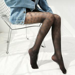 Medias Hacer a alguien lucir medias más delgadas Estilo europeo American Style Pantyhose Black Silk Sexy delgada ropa interior delgada