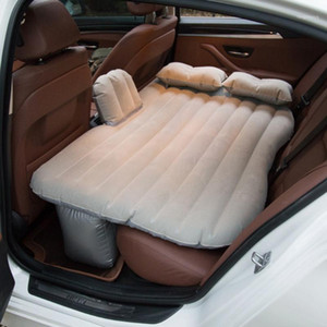 Car Air Inflatable Car Bed Outdoor Camping PVC Flocking Mult-ifunction Back Seat Matress Bed Travel Mat Cushion1