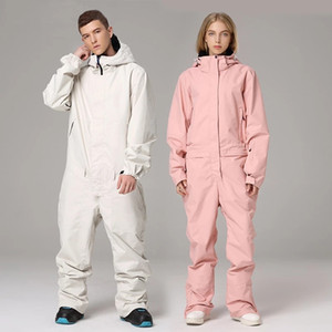 Ski Suit Jumpsuit Snowboard Jacket Men Outdoor Hiking Skiing Set Winter Women Clothing Lining of clothes Overalls Waterproof