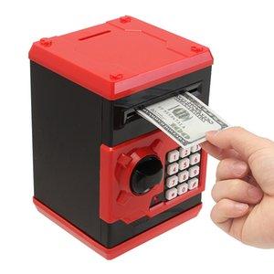صندوق ودائع آمن عملة أصبع البنك مكافحة عملة الخنزير الإلكترونية البنك الصراف الآمن المال صندوق النقدية درج صناديق المال الأطفال 60A046 Z0123