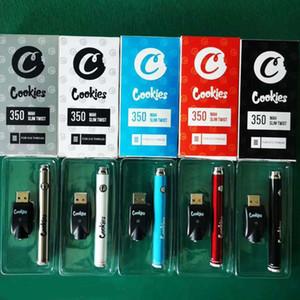 Galletas 510 Batería de hilo 900mAh 350mAh Caja de voltaje variable Embalaje Twist Twist Thick Aceite Cartucho de Aceite Baterías Botas Intecalentamiento inferior con cargador USB