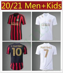 NOVO Aran 2020 2021 Atlanta United Futebol MLS MARTINEZ ALMIRON FC 20 21 homens de futebol e camisa dos miúdos kit