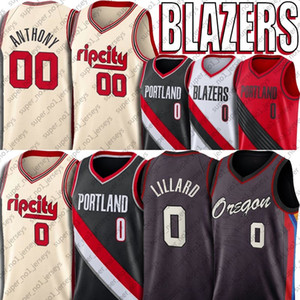 0 Damian Lillard Blazer Jersey Carmelo Anthony 00 jerseys jerseys Oregon PortlandTrail BlazersJersey CJ 3 jerseys McCollum