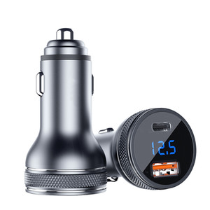 3.0 Fast Charging Mini USB Car Charger Fast Charging Charger for Xiaomi Auto Type-C QC PD 3.0 Mobile Phone Charger