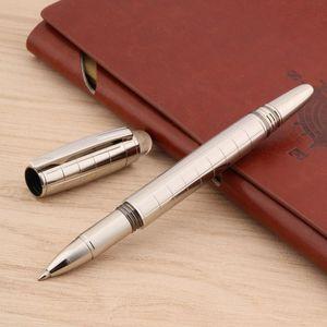 جودة الفاخرة العلامة التجارية 005 رولربال القلم توقيع الغزل الكرة نقطة القلم غطاء الكريستال القرطاسية مكتب اللوازم المدرسية
