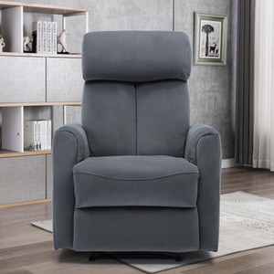 US STOCK Power Recliner Chair Vevelt Fabric Electric Recliner Chair Reclining Single Sofa Living Room Chair Power Recliner Sofa W50123354