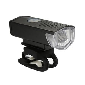 LED recargable Conjunto Montaña USB bicicleta luz delantera de la bicicleta Volver lámpara de la linterna de la linterna al aire libre deportes de ciclo