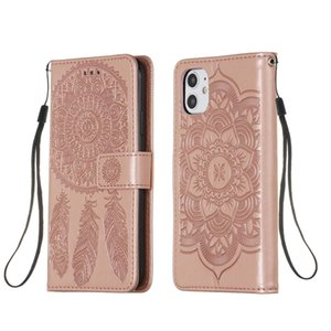 NEW For iPhone 11 Dream Catcher Printing Horizontal Flip Leather Case with Holder & Card Slots & Wallet & Lanyard