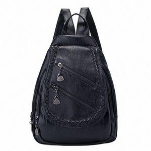 FGGS-Fashion Wild Lady сумка на ремне большой емкости Повседневной Личность сумка Малых Свежее Рюкзак hl1A #
