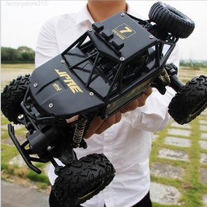 Super large alloy climbing mountain bigfoot four-wheel drive remote control toy model off-road vehicle rock car children's c