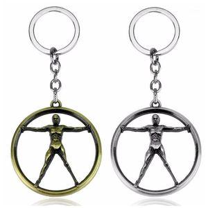 Keychain الرجال العالم كيرينغ مجوهرات ويست روبوت الإبداعية Westworld نموذج سيارة مفتاح حامل السيارة 1