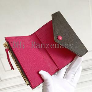 AD09 مصمم للجنسين محافظ الأعمال الفاخرة المرأة حقيبة اليد الرسمي محفظة الأزياء الكلاسيكية السوداء محفظة عالية الجودة عادي محفظة TR95