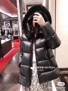 Parka Le donne ultra-leggero sottile Down Jacket 2020 autunno inverno Slim corto con cappuccio bianco caldo Anatra tuta sportiva del cappotto e4 delle donne