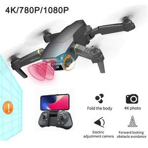 Aerial HD Globale Drohnen-Kamera Dual Kinder spielen Quadcopter breit 4k UAV-Winkel Hindernis-Vermeidung GD89 Drohner Hubschrauber Geschenk Pro-Foto WWPD