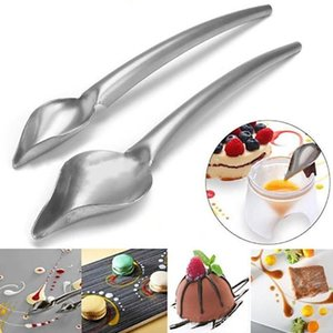 Chef Decoration Pencil Anti-slip Creative Decoration Spoon Portable Mini Sauce Painting Coffee Spoon Kitchen Home Draw Cook Tool