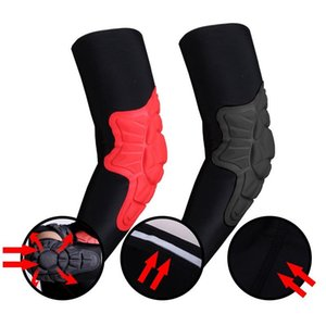 Breathable Elbow Brace Pads Guard Compression Padded Arm Support Sleeve Protector For Outdoor Skateboarding Basketball Football
