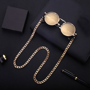 Women Men Sunglasses Lanyard Strap Simple Classic Necklace Metal Eyeglass Chain Cord For Reading Glasses