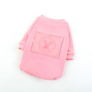 Classique Animaux Broderie Hoodies Mode Thicken Designer bichon coton Chemises Hiver chaud Schnauzer Costumes de luxe Habillement