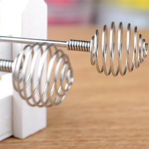 20.5 cm Miele Cucchiai mini Prevenire la ruggine Maniglia solida Cavatappi Spin Vola Stirring Asta 304 Acciaio inossidabile Acciaio inox Whisk Kitchen Nuovo arrivo 1 5 ° m2