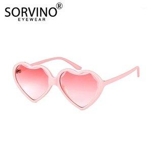 Sorvino 2020 Novo Coração Rosa Preto Óculos De Sol Acessórios Para Crianças Óculos A0051