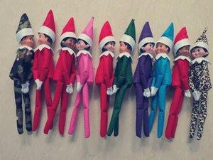 Livraison gratuite 10 PCS vente chaude Christmas Baby Elf Nuisettes Elfes Jouets Mini Elf Décoration de Noël Poupée Jouets enfants Cadeaux Little Dolls