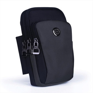 Waterproof Nylon Unisex Belt Waist Fanny Pack Cell Mobile Phone Cover Cigarette Case Purse Hook Men Small Crossbody Shoulder Bag