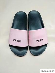 brand2 High Quality Designer Mens Womens Summer Rubber Sandals Beach Slide Fashion Scuffs slippers