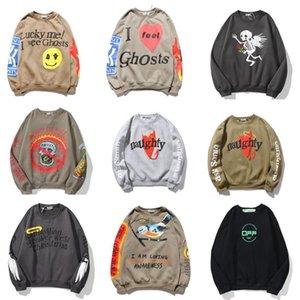 kanye west lucky me i see ghosts hoodies mens designers womens fashion print hoodie sweatshirts black long sleeve clothes clothing J2Wp#